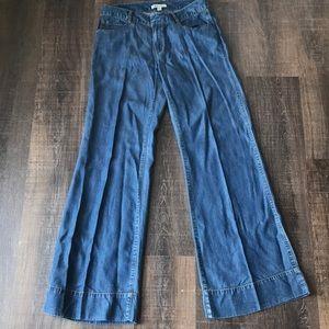 CAbi Jeans wise leg tencel pants